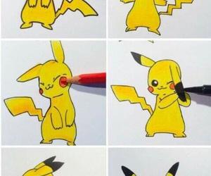 pokemon, pikachu, and art image