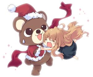 toradora, christmas, and Taiga image