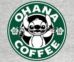 coffee, stitch, and ohana image