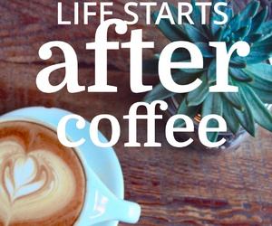 caffeine, coffee, and life image