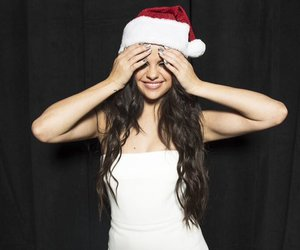 selena gomez, christmas, and Queen image