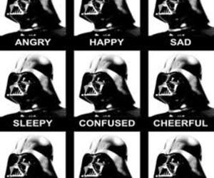 black, dark side, and mask image