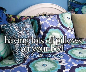 pillow, quote, and bedroom image