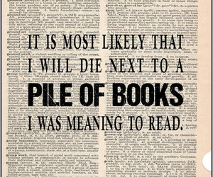 books, funny, and print image