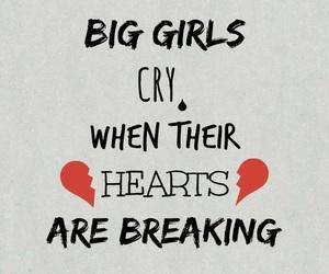 Sia, Lyrics, and big girls cry image
