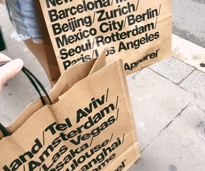 american apparel, shopping, and girls day image