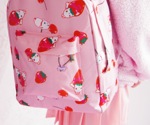 backpack, jfashion, and kawaii backpack image