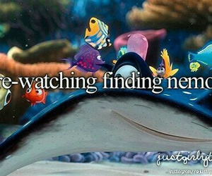 just girly things, finding nemo, and nemo image