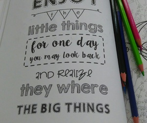 big things, life, and little things image