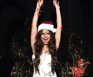 selena gomez, christmas, and selena image