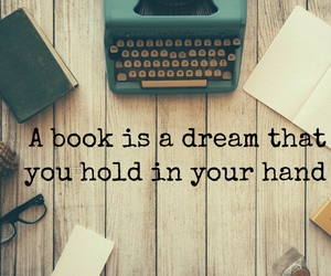 book, Dream, and easel image