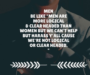 clear, feminism, and men image
