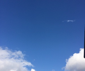 blue, sky, and summer image