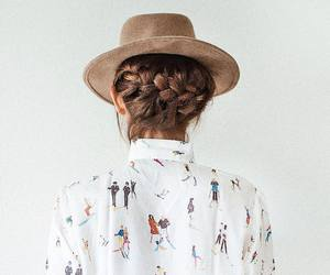 clothes, fashion, and hairstyle image
