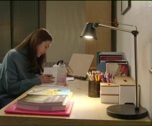 desk, drama, and korean image
