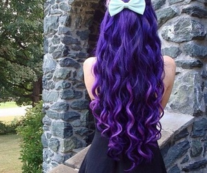 beautiful, colored hair, and long hair image