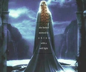 galadriel, lord of the rings, and hobbit image