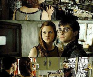harry potter, funny, and kiss image