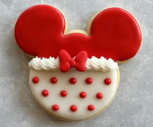 Cookies, minnie, and red image