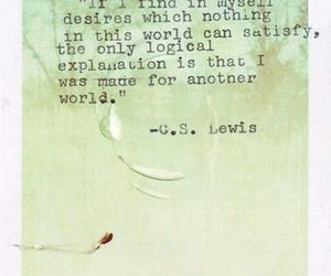 quote, c.s. lewis, and world image