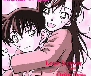 ♥, shinichi, and ran image