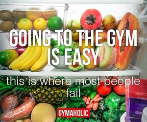 fitness, fruit, and gym image