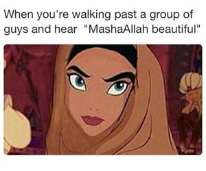 funny, hijab, and lol image