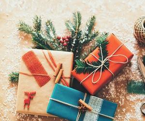 christmas, gifts, and snow image