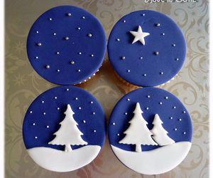 cake, christmas, and Cookies image