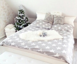 christmas, bedroom, and room image