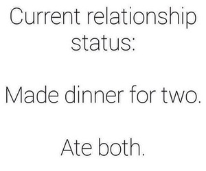 funny, Relationship, and single image