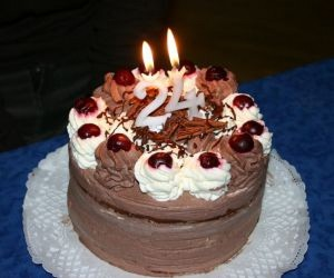 24, cake, and 24 years old image