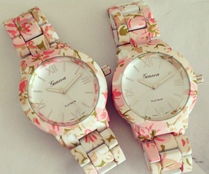 watch, pink, and accessories image