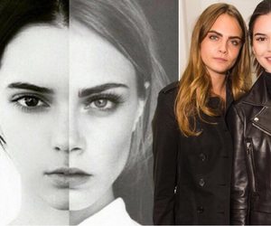 kendall jenner, model, and cara delevingne image