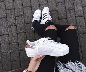 tumblr, adidas, and grunge image