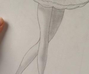 ballerina, ballerine, and ballet image
