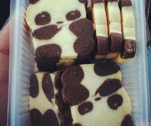 panda, food, and sweet image