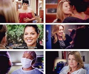 ellen pompeo, sara ramirez, and meredith grey image