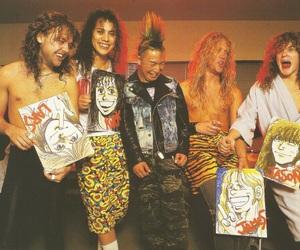 James Hetfield, Jason Newsted, and metallica image