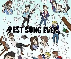 one direction, best song ever, and louis image