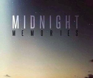 song, midnight memories, and one direction image