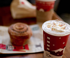 starbucks, coffee, and christmas image