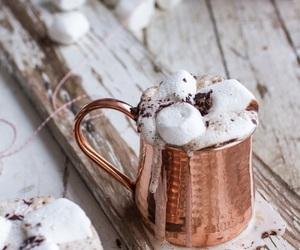 food, christmas, and marshmallow image