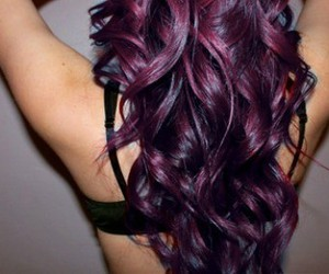 bra, curls, and curly image
