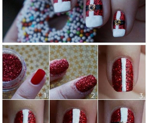 nails, red, and art image