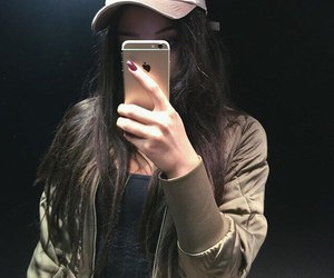 girl, style, and iphone image