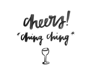 champagne and cheers image