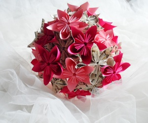 flowers, papier, and origami image