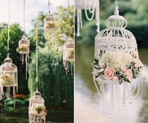 decoration, flowers, and wedding image