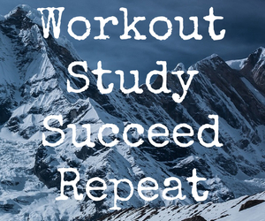quote, study, and success image